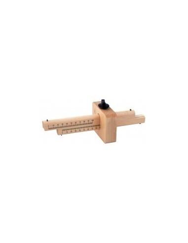 Trusquin de menuisier vrac - caractéristiques:capacité max : 170 mm