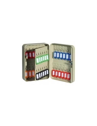Armoire a cles boîte - caractéristiques:armoire 20 clés - 160 x 80 x h. 200 mm