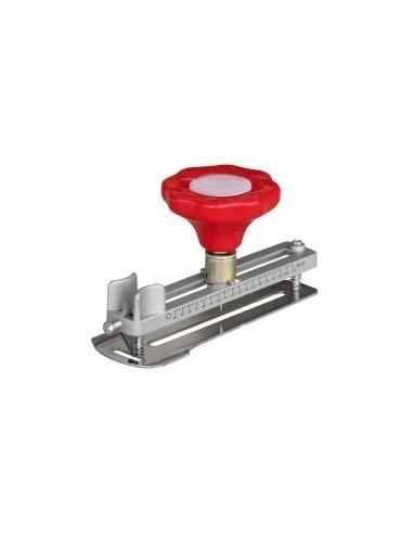 Decoupe-cercles libre service - capacité de diam.:40 à 210 mmprofondeur de coupe:jusqu'à 11 mm