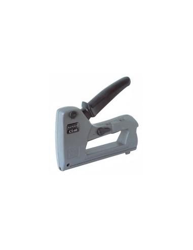 Agrafeuse pour cable - ct60 libre service - réf.:10407v désignation:agrafeuse ct60cavaliers:type g : 12 - 14 mm