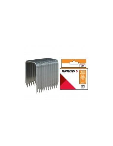 Agrafes t75 libre service -  désignation:boîte de 1000 agrafes longueur pattes:22 mm