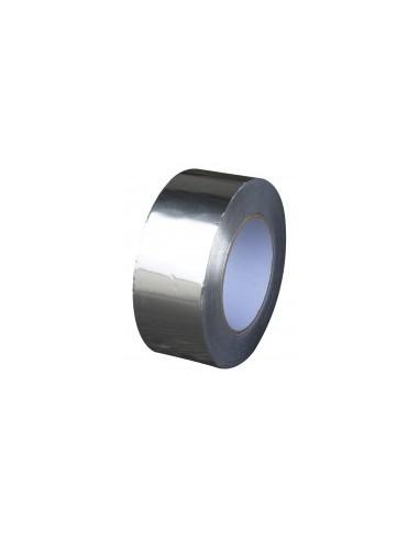 Ruban adhesif aluminium vrac - caractéristiques:50 m x 50 mm