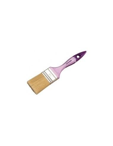 Pinceau plat toutes peintures et vernis vrac -  largeur:20 mm epaisseur:10 mm