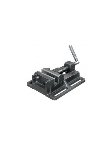 Etau de percage boîte - largeur mors:125 mmouverture:125 mmentraxe fixation:150 mm poids:5 kg