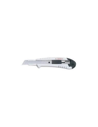 Cutter aluminist auto-bloquant libre service -  désignation:carte de 1 cutter largeur:18 mm