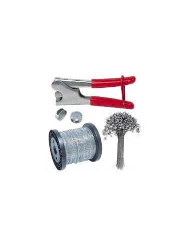 Pince a plomber vrac -  désignation:sachet de 1000 plombs à scellercaractéristiques:ø 10 mm longueur:capacité: diamètre:
