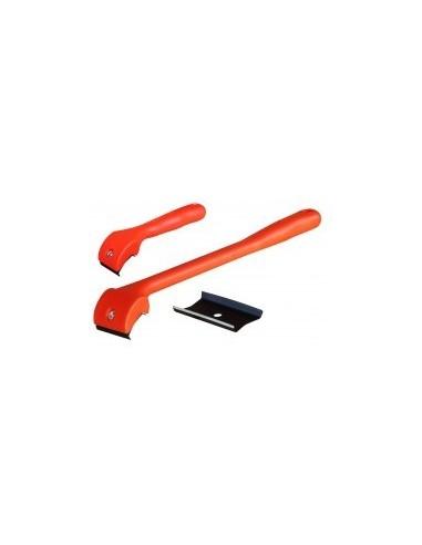 Racloir a bois libre service -  désignation:lame de rechange longueur: largeur:24 mm