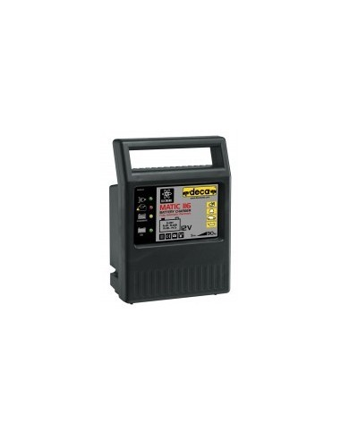 Chargeur de batterie automatique 12v boîte - réf.:mach 116capacité nominale:20 / 90 ahcharge effective:6 a poids:1,5 kg