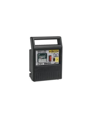 Chargeur de batterie portatif 6/12v boîte - réf.:mach 214capacité nominale:15 / 60 ahcharge effective:4 a poids:1,3 kg