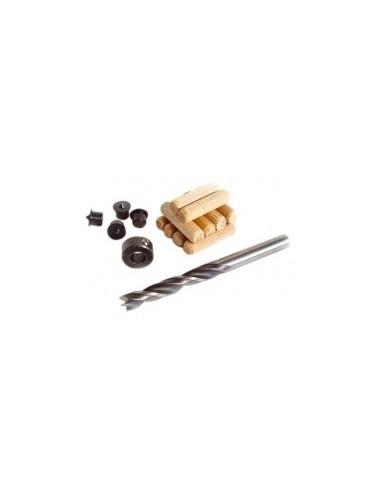 Kit d'assemblage complet sur carte -  désignation:kit d'assemblage ø 10 mm