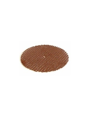 Disques a mailles abrasives double face sur carte -  diamètre:180 mm grain:36