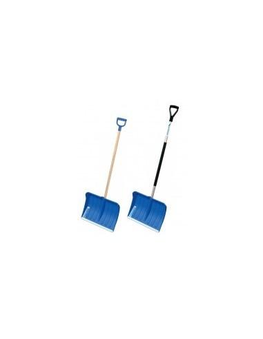 Pelle / poussoir polypro vrac - lame:polypro avec bord d'attaque alumanche:bois avec poignéedimension (l x h):490 x 380 mmlongu