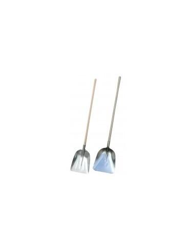Pelle creuse aluminium vrac - lame:alu nervuré épaisseur 1,5 mmmanche:boisdimension (l x h):330 x 420 mm longueur totale:1585 m