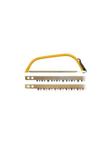 Scie a bûches etui - caractéristiques:lame denture américaine longueur:760 mm