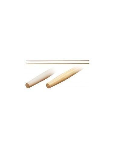 Manches de rateaux et balais a gazon vrac -  désignation:manche de rateauø x long.:ø 28 x 1500 mmemmanchement:conique ø 18 m