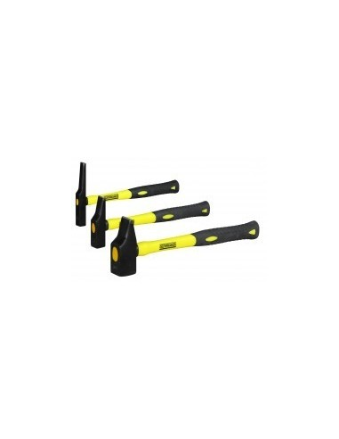 Marteaux manche tri-matiere vrac - type:rivoirdimensions tête:25 mm poids:400 g