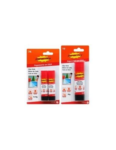 Batons de colle universelle libre service - réf.:2474présentation:tubescontenance:2 x 9 g