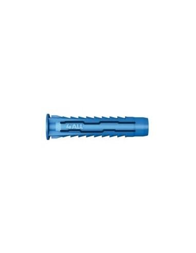 4all : chevilles nylon multifonctions boîte - réf.:4all-06 désignation:boîte de 100 chevilles ø 6 x 30 mmpour vis:ø 4 / 5 m
