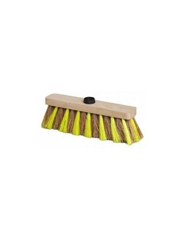 Balais coco zebres vrac - caractéristiques:emmanchement douille vissante ø 25 mm dimensions:37,5 cm poids: