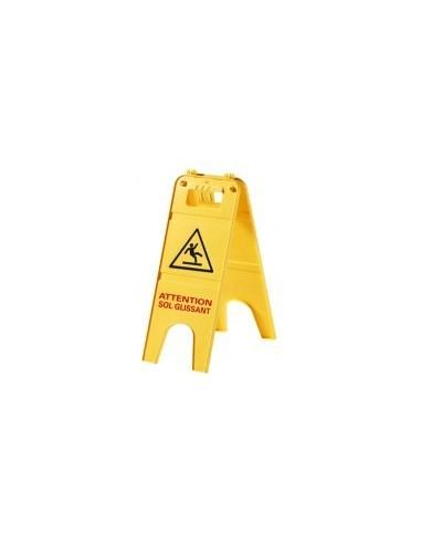 Panneau signalisation sol glissant vrac -  dimensions:228 x h. 600 mm poids:750 g