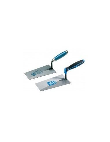 Truelle carree pro sur carte -  dimensions:18 cm