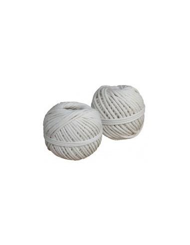 Cordeau coton vrac -  diamètre:2,5 mm longueur:28 m poids:100 g