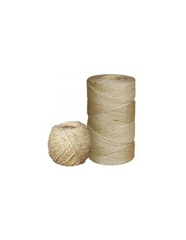 Ficelle sisal vrac -  diamètre:3 mm longueur:500 m poids:2500 g