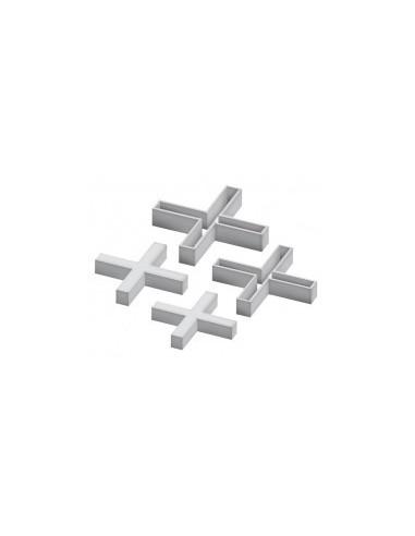 Croisillons de carrelage libre service -  epaisseur:8 mm quantité:1 sachet de 100 pcs