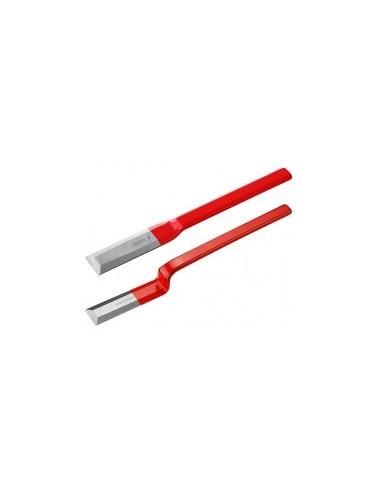 Ciseaux ebauchoirs de charpentier  sur carte -  largeur:40 mm