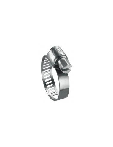 Colliers de serrage sur carte - caractéristiques:2 colliers de serrage 32 à 52 mm