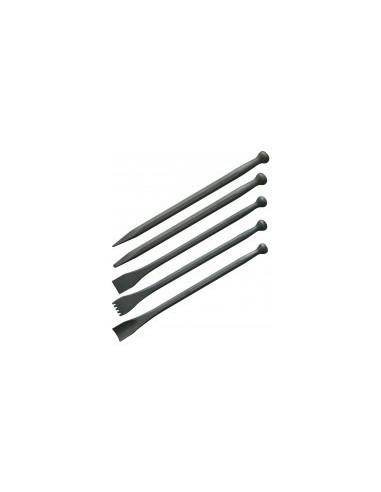 Outils de sculpteur sur pierre vrac -  dimensions:gouge 6 mm