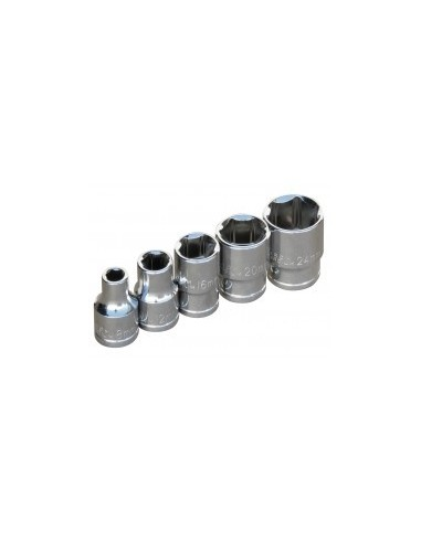 Douille - 1/2'' standard vrac -  dimensions:15 mm