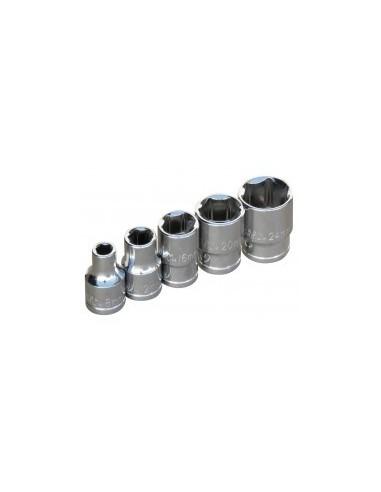 Douille - 1/2'' standard vrac -  dimensions:18 mm