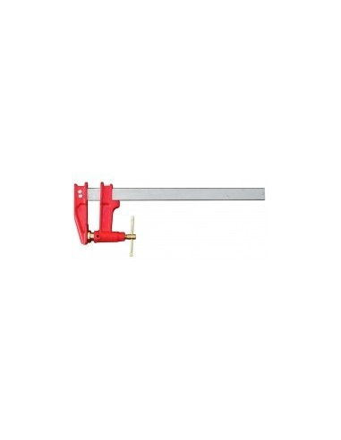 Serre-joint menuisier a pompe vrac - serrage:800 mmsection tige:35 x 8 mmsaillie:120 mm