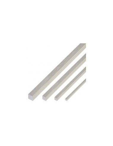 Baguettes carrees de balsa vrac -  section:4 x 4 mm - lot de 4 baguettes