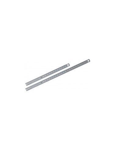 Reglets sur carte - caractéristiques:acier mat flexible longueur:250 mm largeur:13 mm