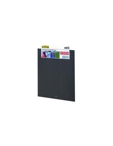 Papier abrasif impermeable a l'eau étiquette cavalier -  désignation:4 feuilles grain:800