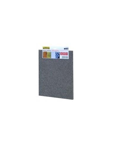 Papier corindon étiquette cavalier -  désignation:4 feuilles grain:120