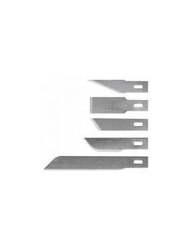 Lames de scalpels sur carte -  désignation:3 lames ciseaux coupe en bout compatibilité: