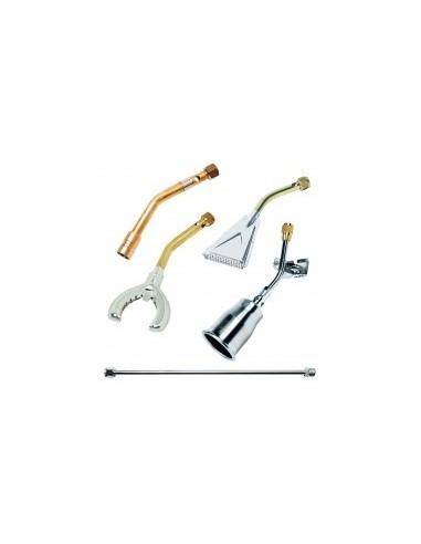 Lances de chalumeau libre service - réf.:150tl200caractéristiques:lance titane ø 70 x 200 mm 150 kwdébit (3 bar):