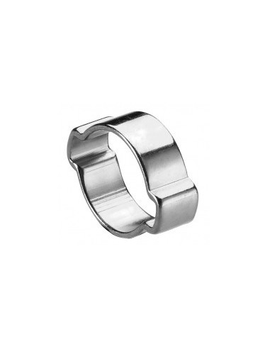 Colliers de serrage a oreilles libre service - réf.:1315 désignation:sachet de 100 colliers diamètre:13 à 15 mmlargeur bande:7