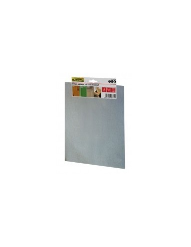 Papier abrasif anti-encrassant étiquette cavalier -  désignation:4 feuilles grain:80