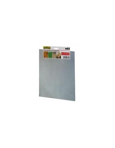 Papier abrasif anti-encrassant étiquette cavalier -  désignation:4 feuilles grain:120