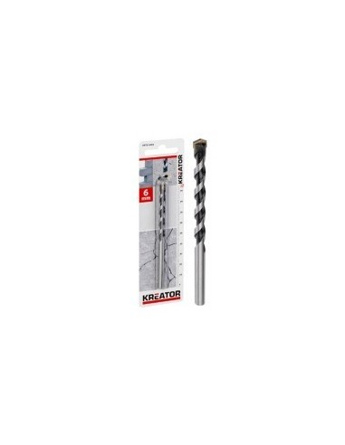 Meches beton sur carte -  désignation:1 mèche diamètre:8,0 mm longueur:400 / 260 mm