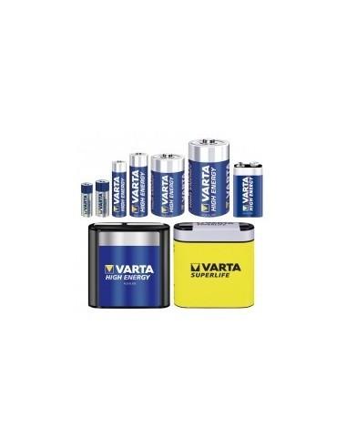 Piles 'high energy' vrac -  désignation:boîte de 10type:lr3 / aaatension:1,5 v