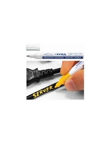 Marqueur peinture sur carte -  désignation:1 marqueur jaune
