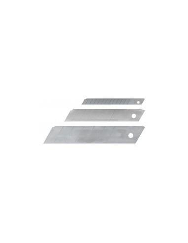 Lames de cutter vrac -  désignation:etui de 10 lames largeur:18 mm