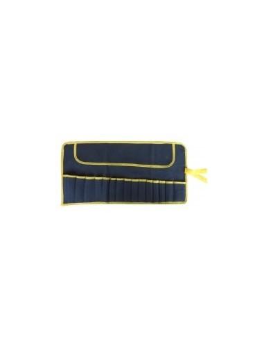 Trousse a outils - 15 compartiments étiquette cavalier -  dimensions:620 x h. 320 mm