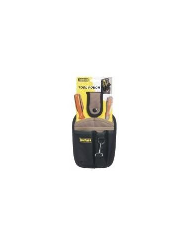 Poche a outils - 6 compartiments vrac - réf.:360.052  dimensions:150 x h. 260 mm