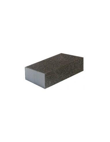 Eponge abrasive étiquette cavalier -  grain:moyen 60/4